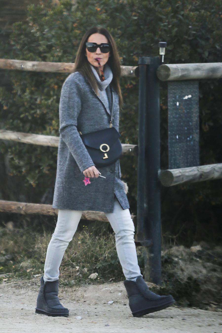 El look (y color) perfecto para los días fríos es el de Paula ... 8d4f570c5895f