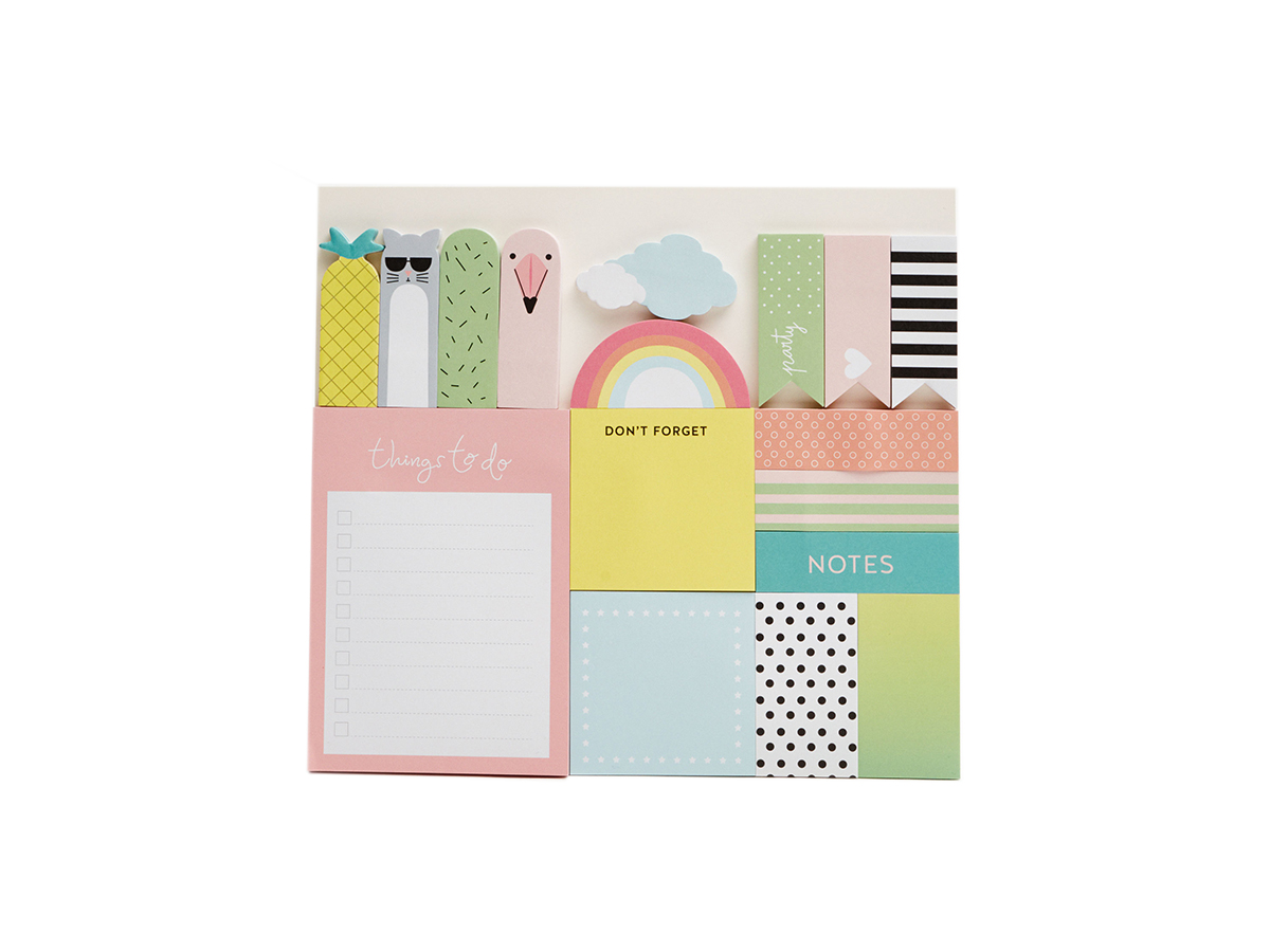 pull2 . Pack de post-its, de Pull&Bear (7,99 €).