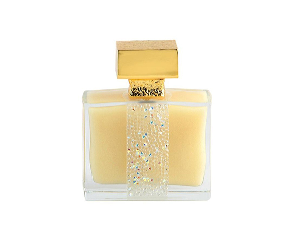 mic. Perfume Ylang in Gold, Jewel Collection, de M. Micallef (195 €).