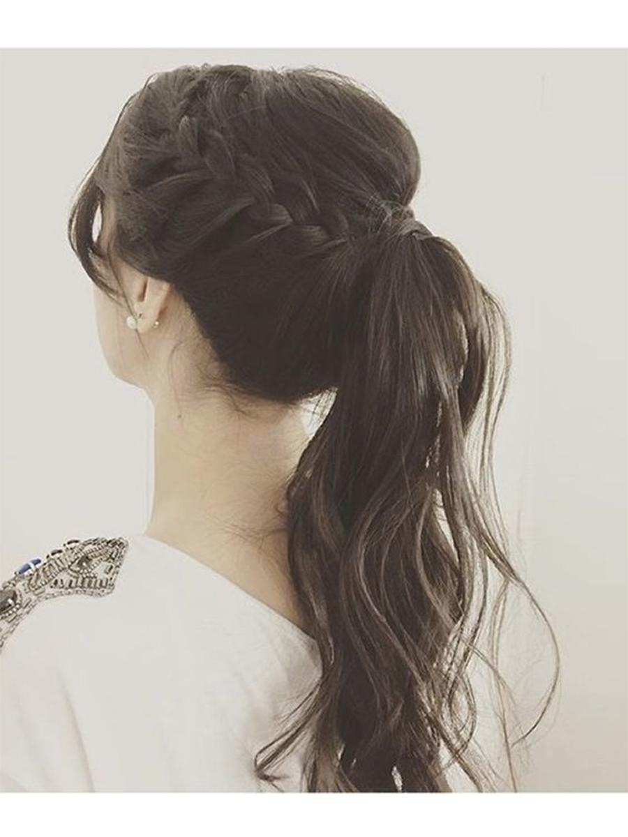 El peinado de fiesta perfecto seg n tu tipo de pelo instyle - Peinados de fiesta con rizos ...