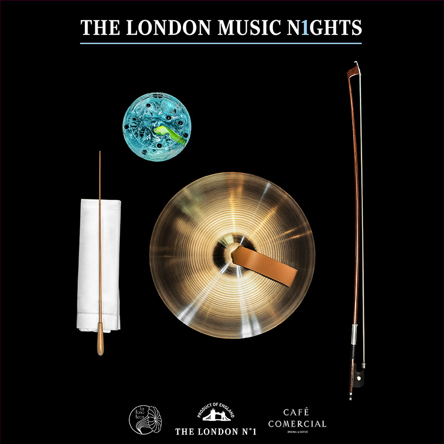 vinilo portada. The London Music N1ghts