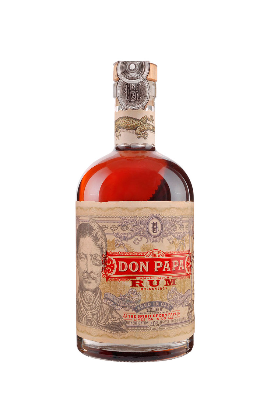 BOTELLA DON PAPA-32,90-€. Ron gourmet Don Papa (32,90 €)