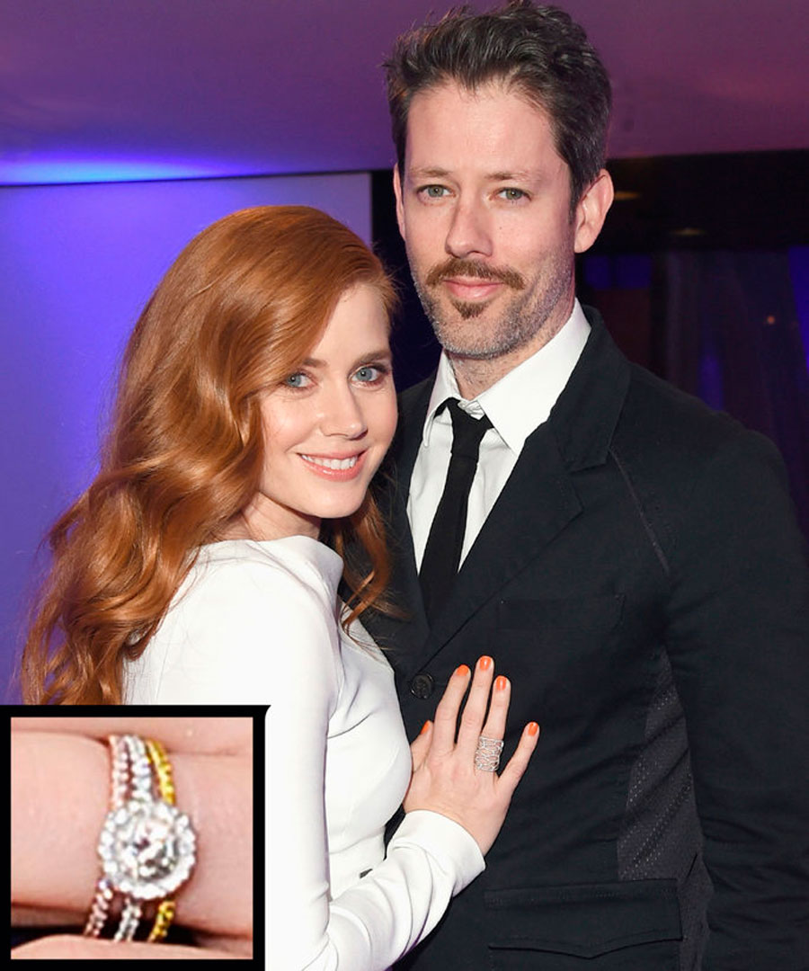 anillos-17. 17. Amy Adams y Rarren Le Gallo