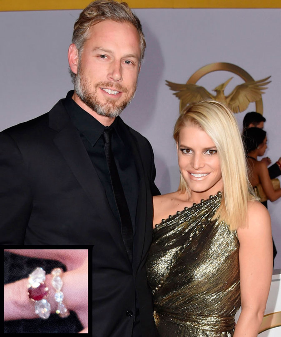 anillos-34. 34. Jessica Simpson y Eric Johnson