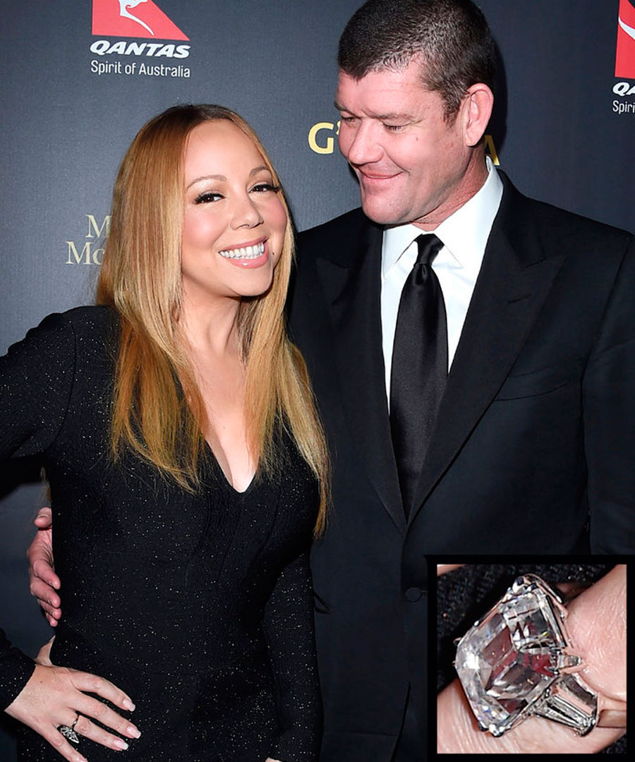 anillos-38. 38. Mariah Carey y James Packer