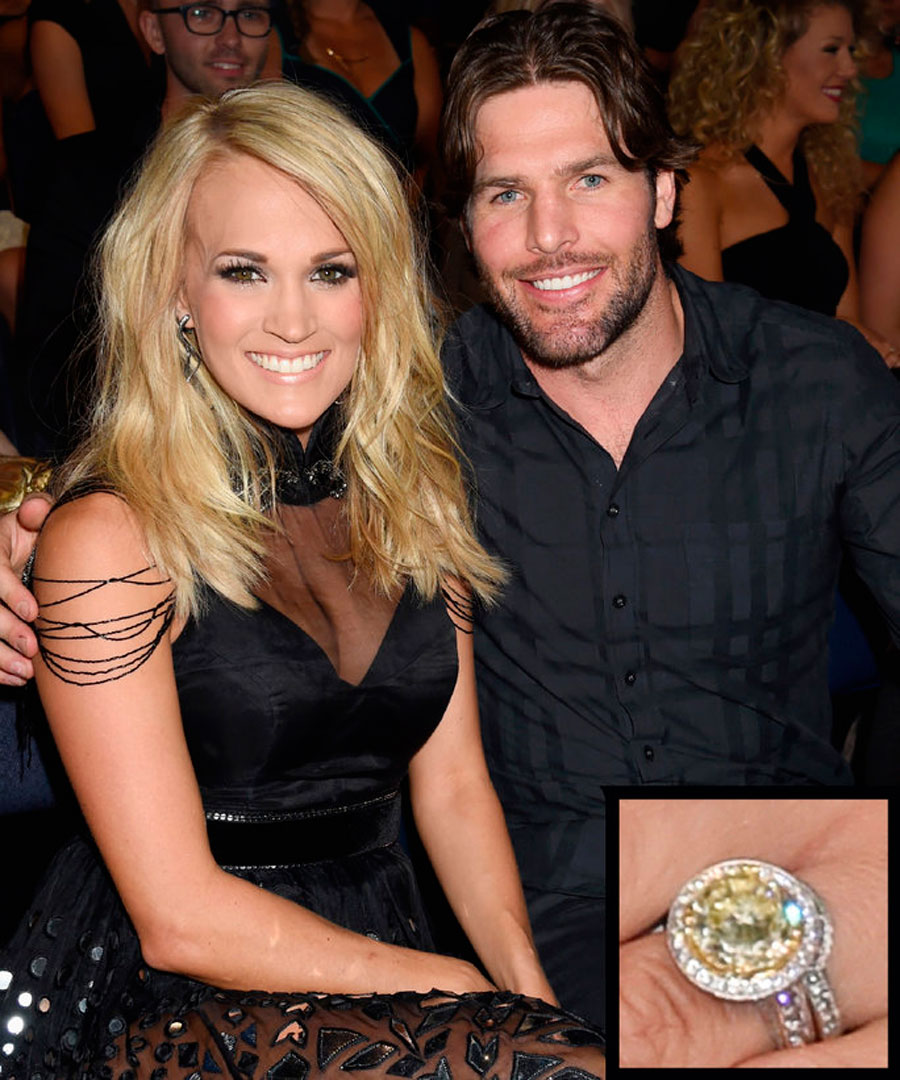 anillos-39. 39. Carrie Underwood y Mike Fisher