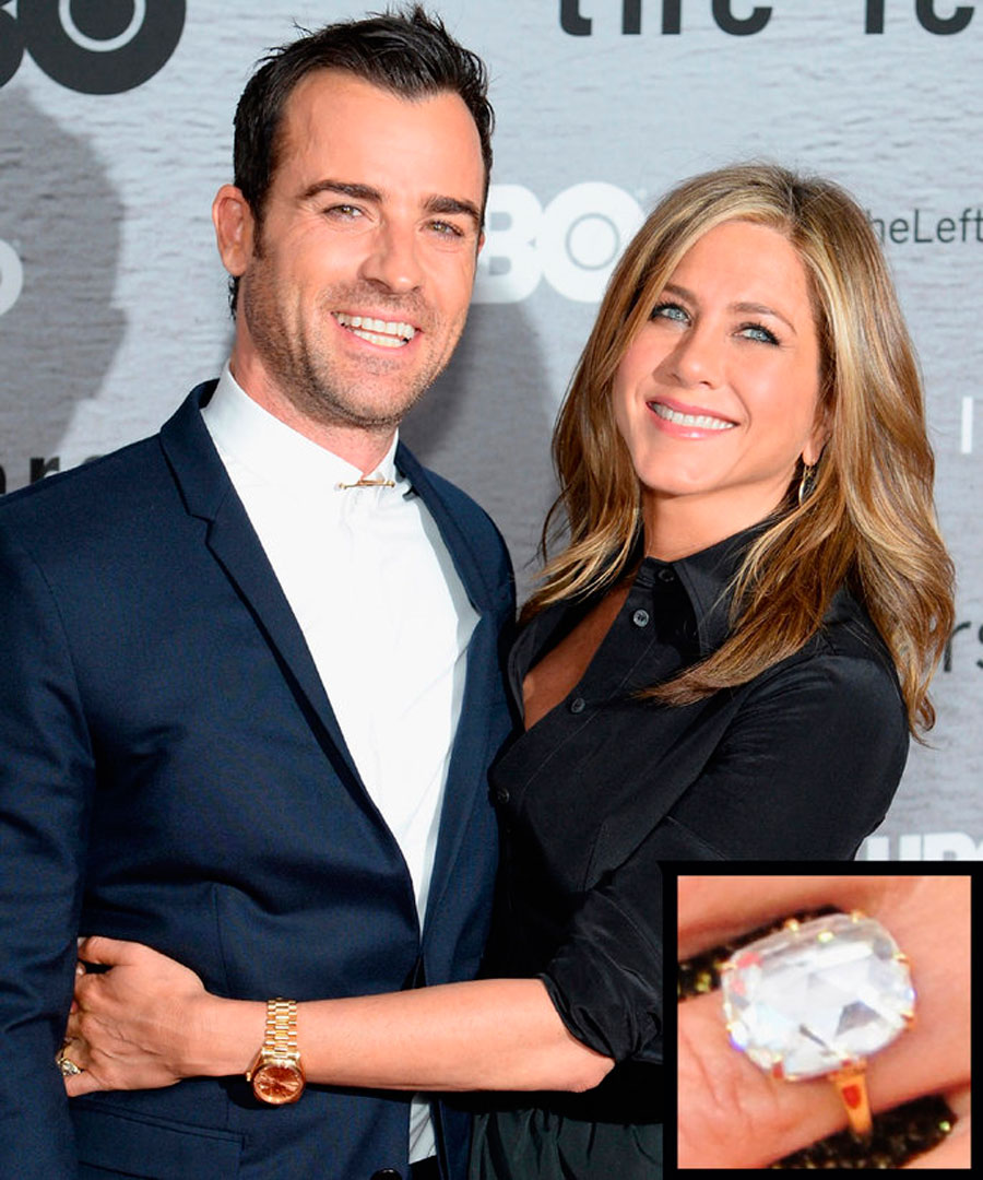 anillos-41. 41. Jennifer Aniston y Justin Theroux