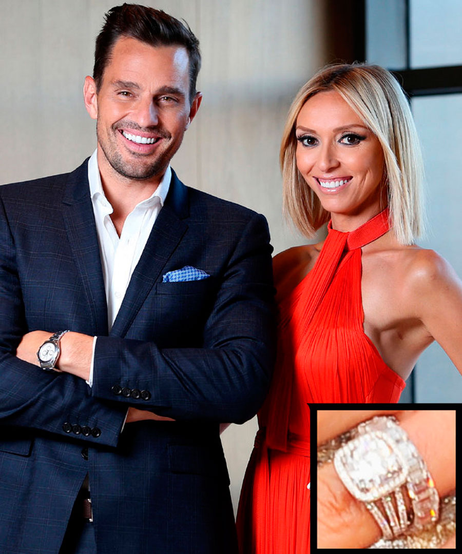 anillos-43. 50. Giuliana y Bill Rancic