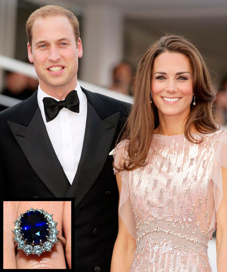 anillos-49. 46. Kate Middleton y el Príncipe William