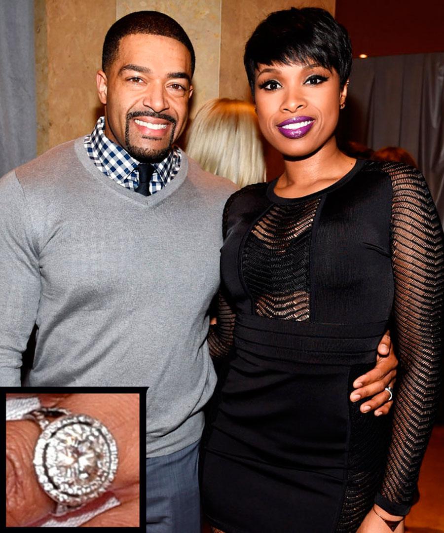 54. Jennifer Hudson y David Otunga