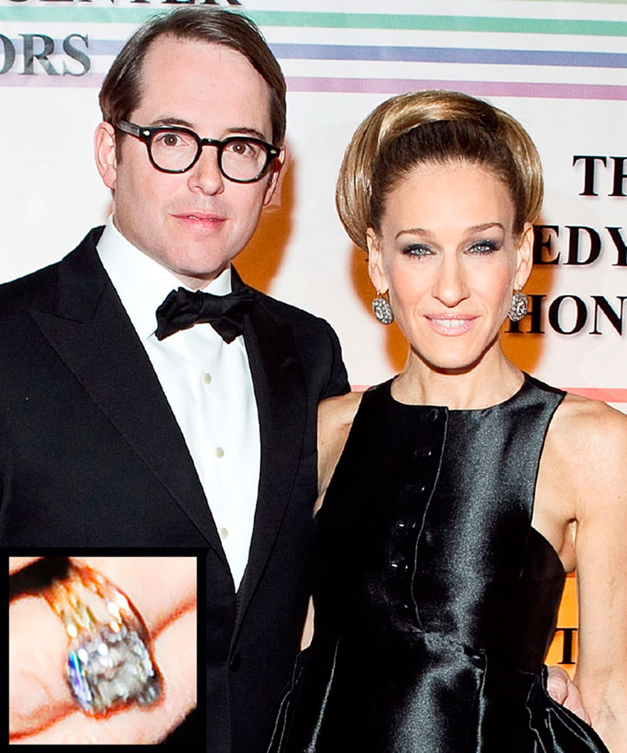 anillos-56. 56. Sarah Jessica Parker y Matthew Broderick