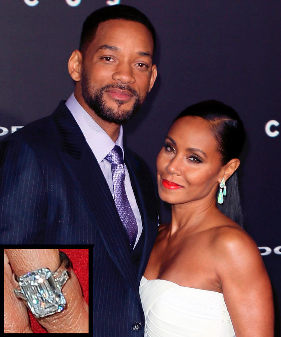 anillos-58. 58. Jada Pinkett y Will Smith