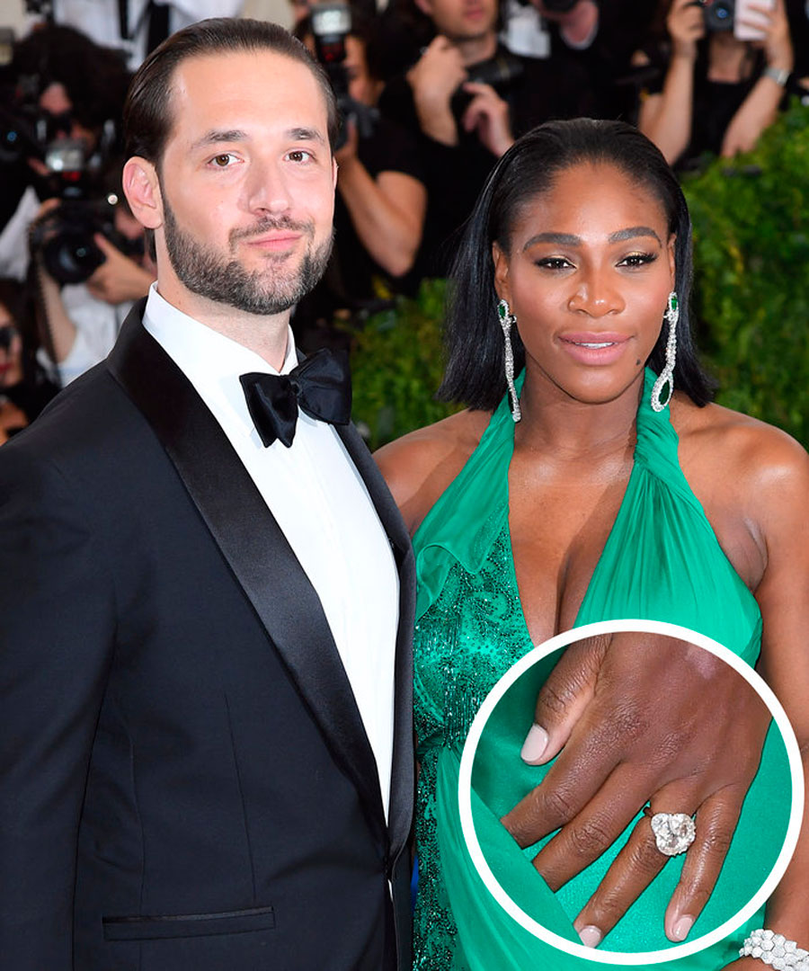 anillos-71. 85. Serena Williams y Alexis Ohanian
