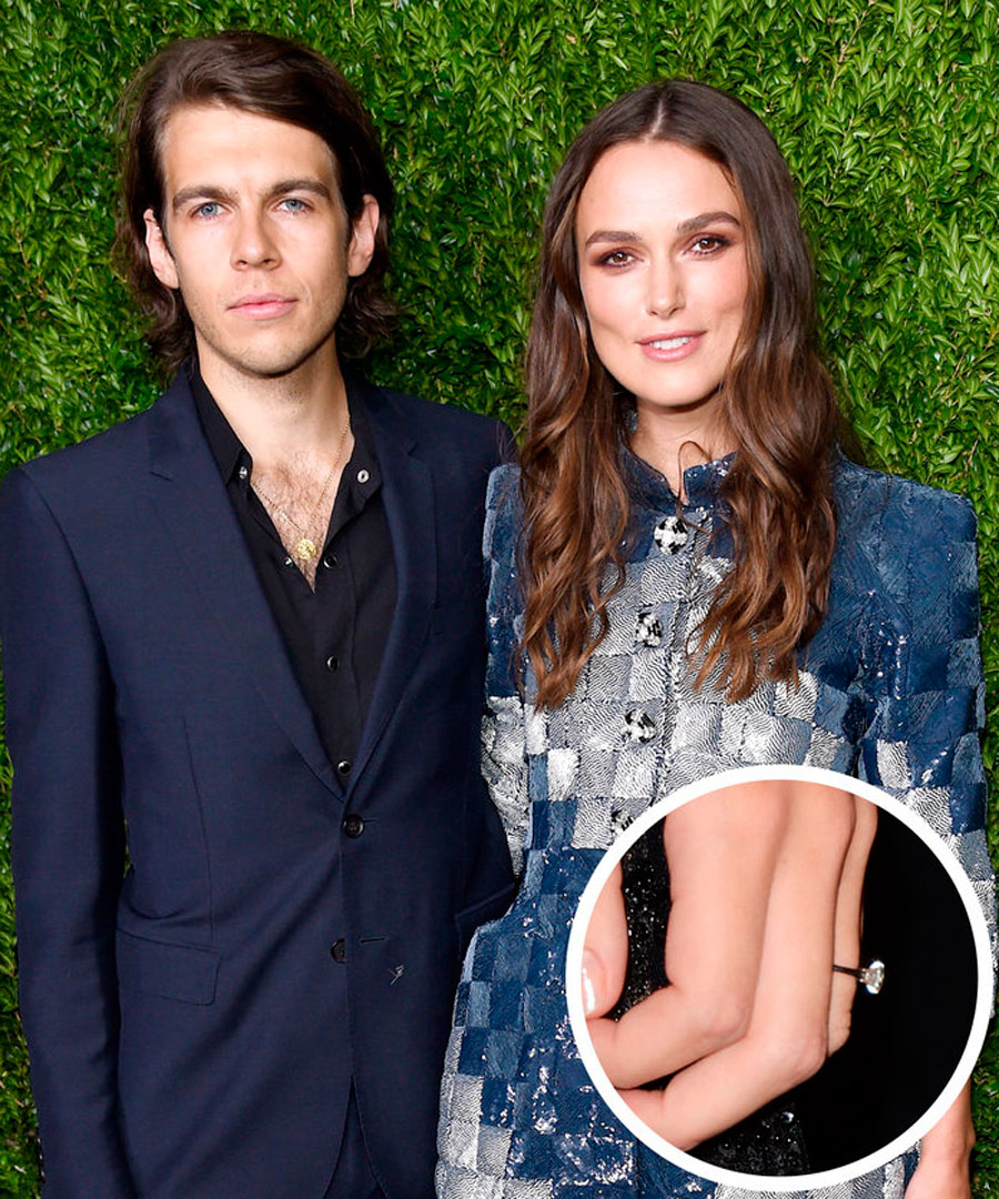 anillos-75. 83. Keira Knightley y James Righton