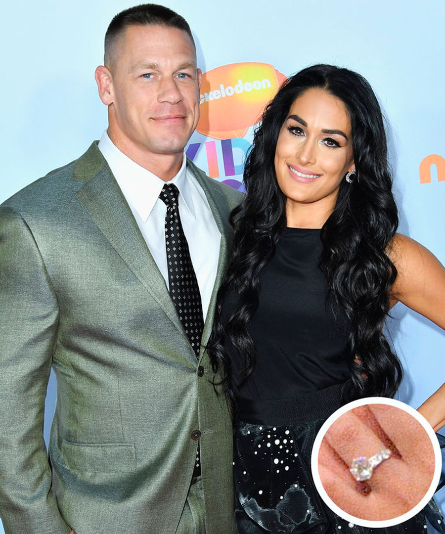 anillos-7. 7. John Cena and Nikki Bella
