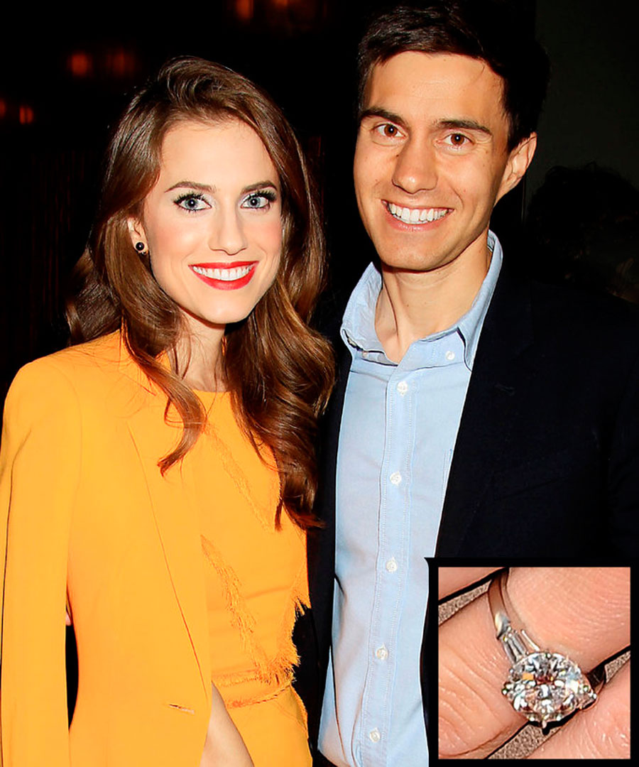 anillos-85. 77. Allison Williams y Ricky Van Veen