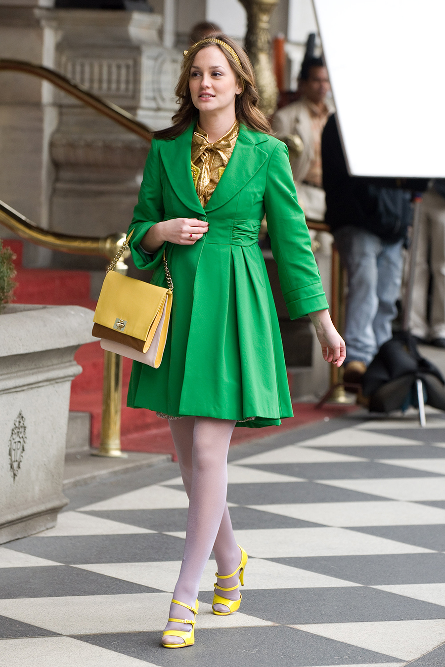 blair waldorf. Un toque 'preppy'