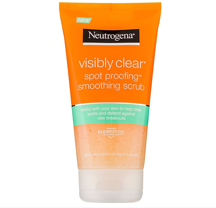 4. CREMA EXFOLIANTE VISIBLY CLEAR SPROOFING NETROGENA. 4. CREMA EXFOLIANTE VISIBLY CLEAR SPROOFING NEUTROGENA