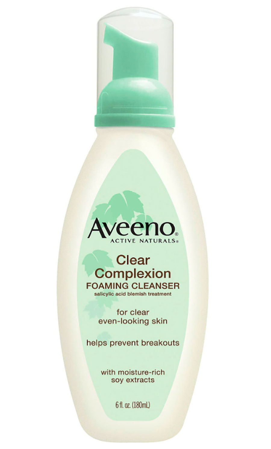 AVEENO® CLEAR COMPLEXION FOAMING CLEANSER. 1. AVEENO CLEAR COMPLEXION FOAMING CLEANSER