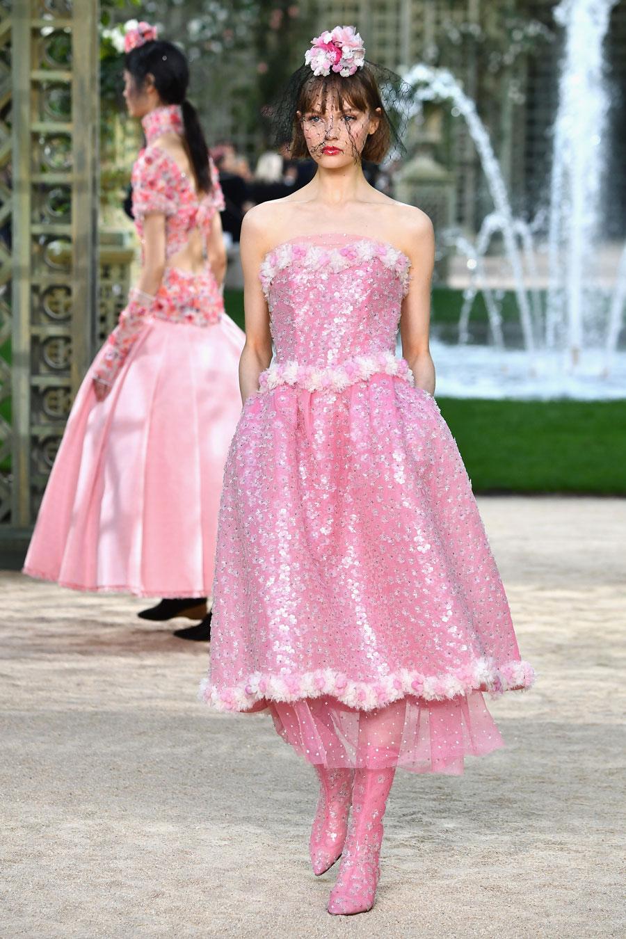 El desfile de Chanel Alta Costura primavera-verano 2018 - InStyle