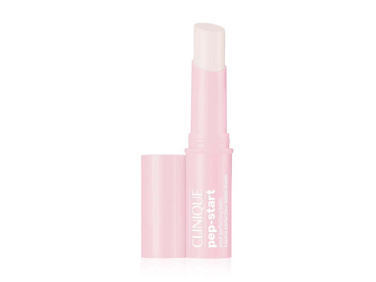 clinique. Pep-Start Pout Perfecting Balm, de Clinique (30 €).