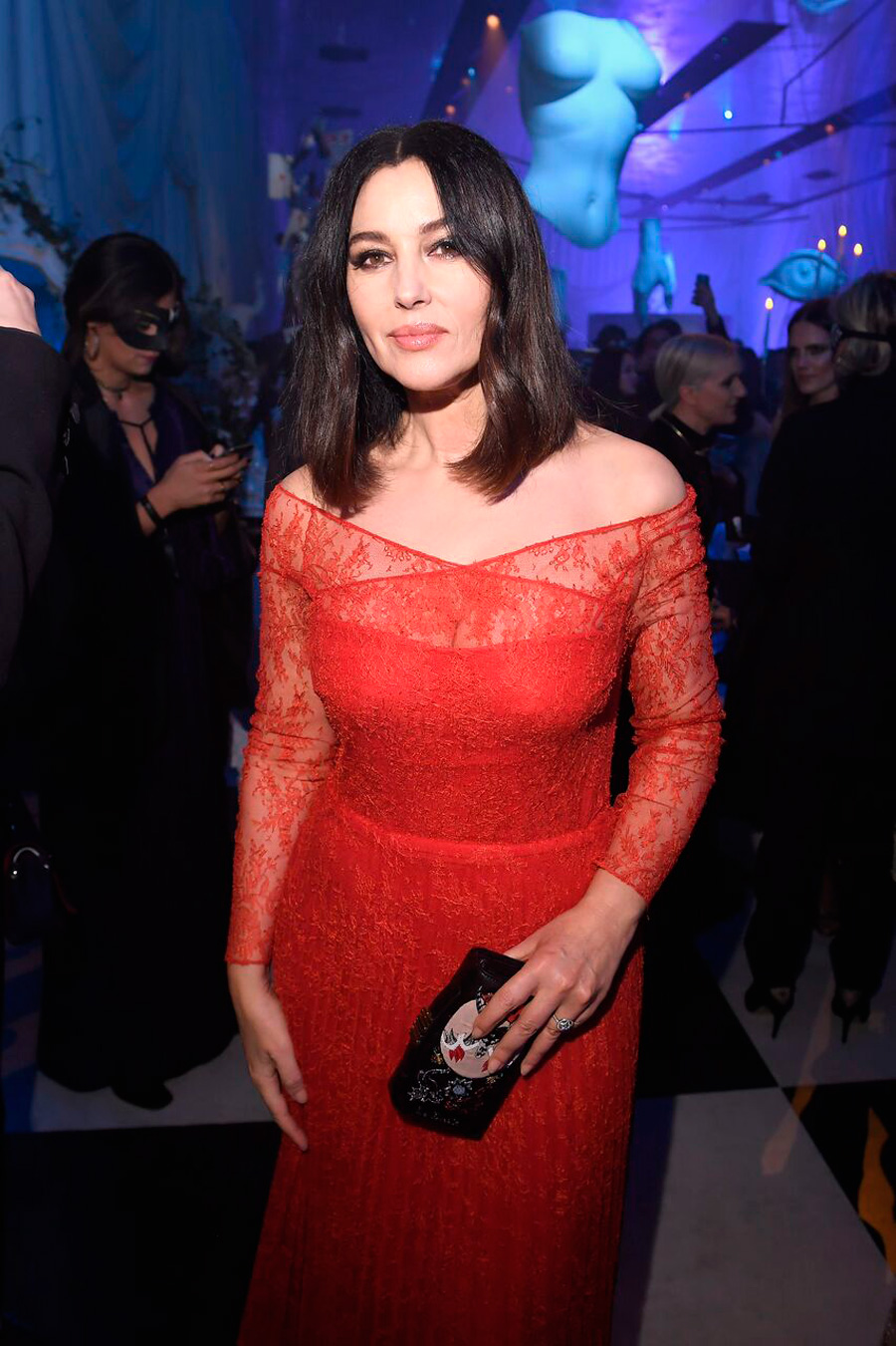 DIOR HC SS18 BALL---Monica-Bellucci preview. 3. Monica Bellucci