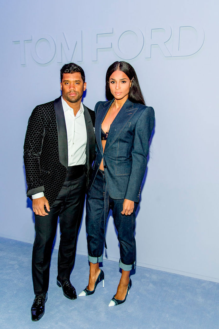 34. Russel Wilson and Ciara
