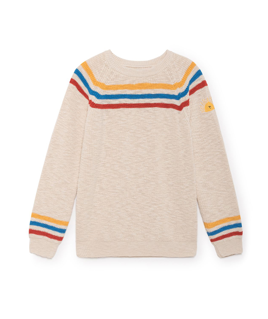 Bobo Choses 95 €. El jersey 'made in Spain' de Sara Carbonero