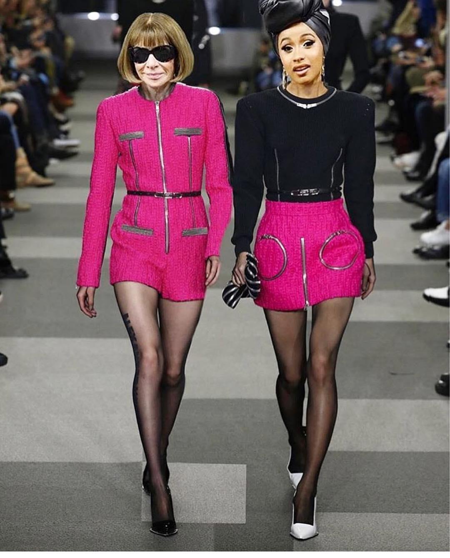 Cardi B la it girl de la semana de la moda de Nueva York - InStyle