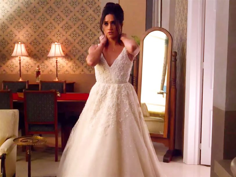 estas son todas las pistas del vestido de novia de meghan markle