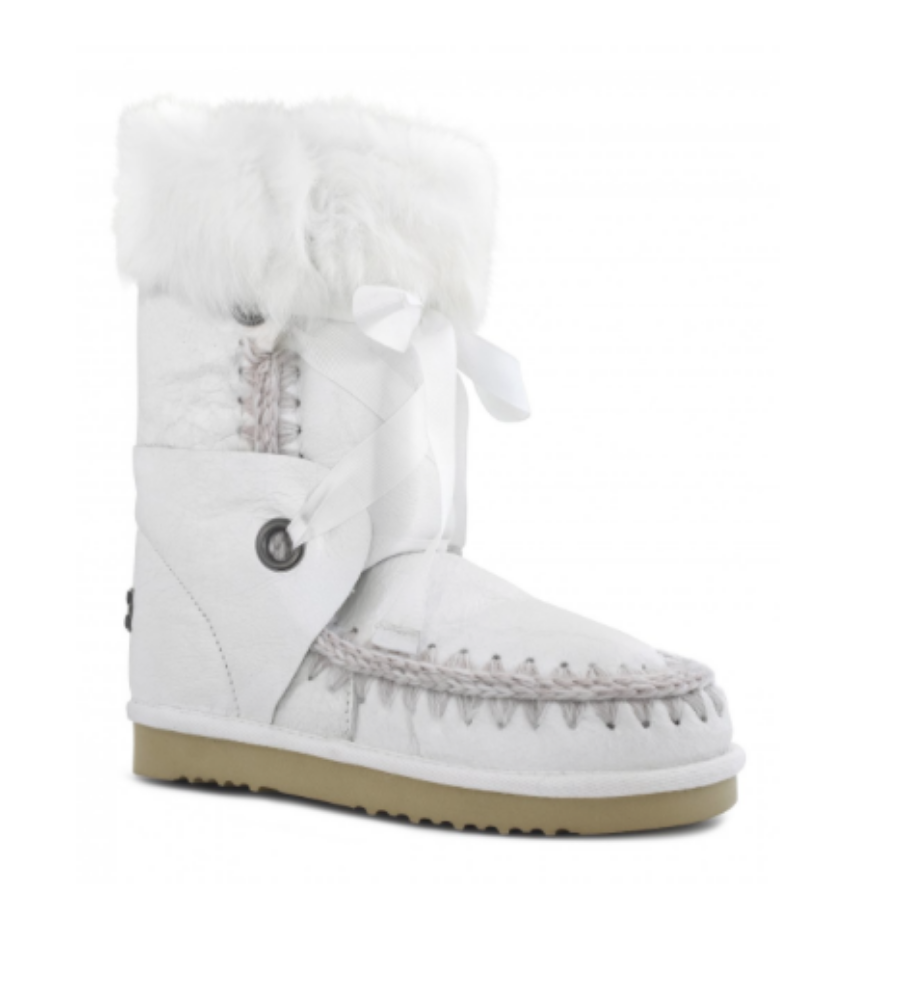 Zahir Madrid Bota Mou Eskimo Lace And Fur263,20. De Zahir Madrid