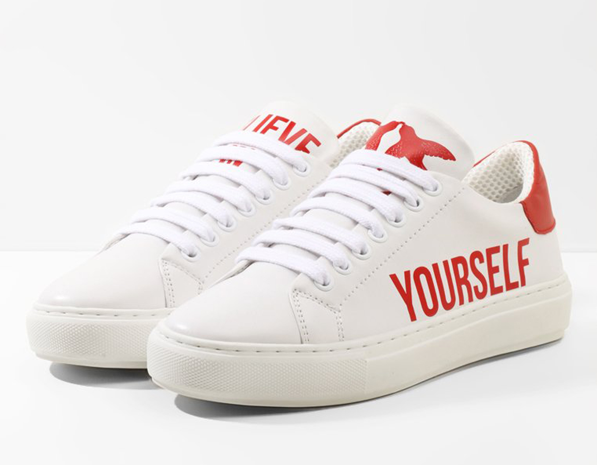 zapatillas-pinko-zalando-believe-yourself. Creer en ti