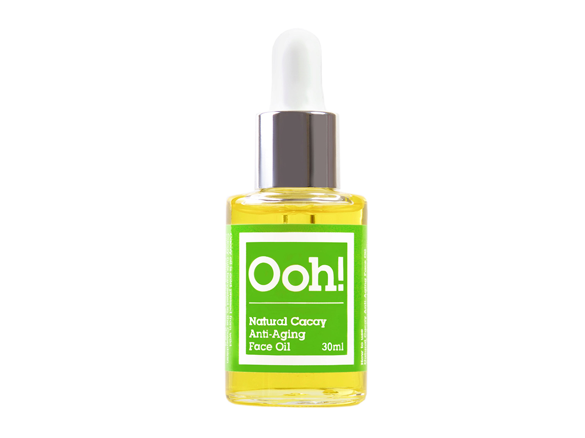 oil. Natural Cacay Anti-Aging Face Oil, de Oils of Heaven (c.p.v.).