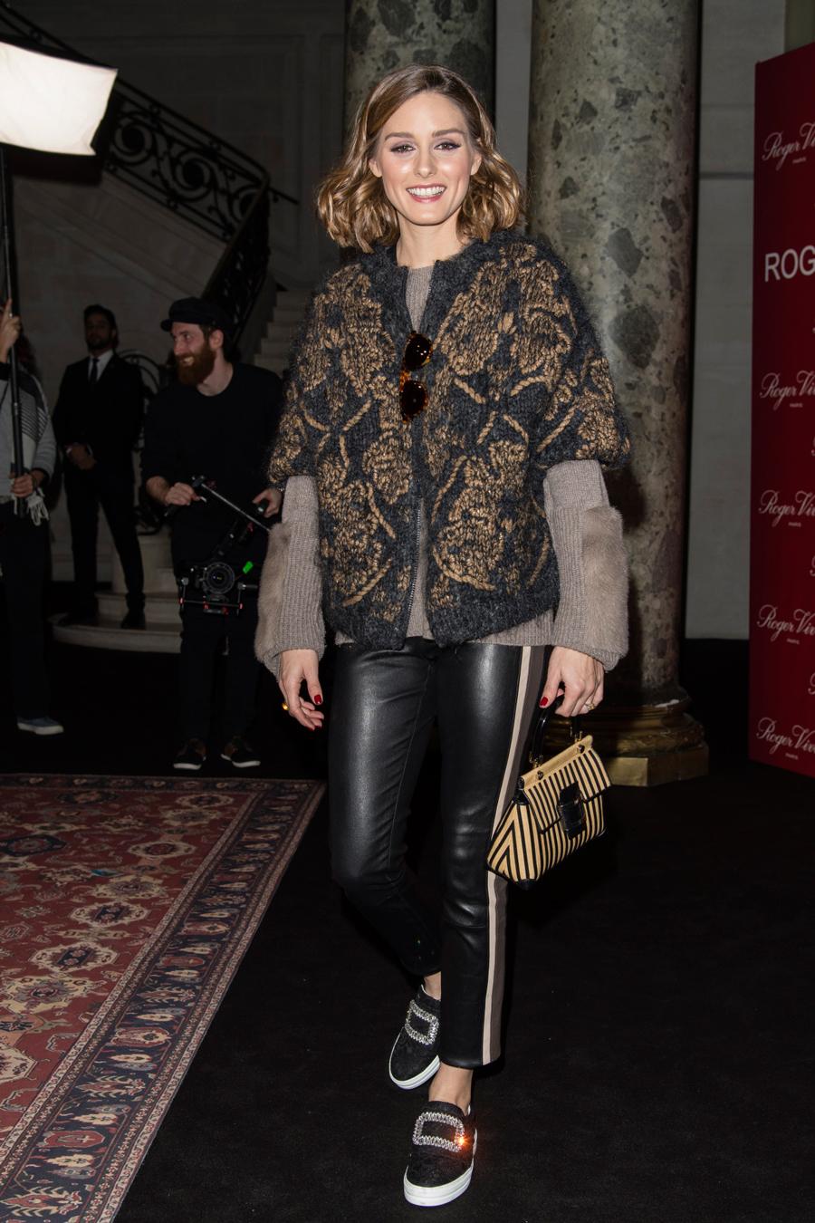 b68b78bbba El pantalón de cuero de moda entre las famosas - InStyle