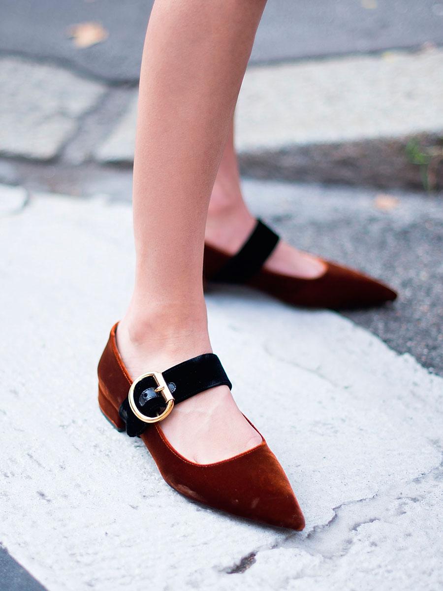 4c246f7c Los zapatos (planos) de mujer también pueden ser muy elegantes - InStyle