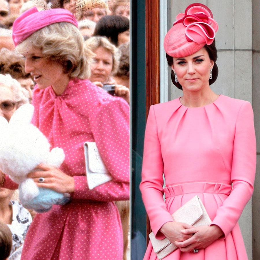 Lady Di y Kate Middleton tienen el mismo estilo - InStyle