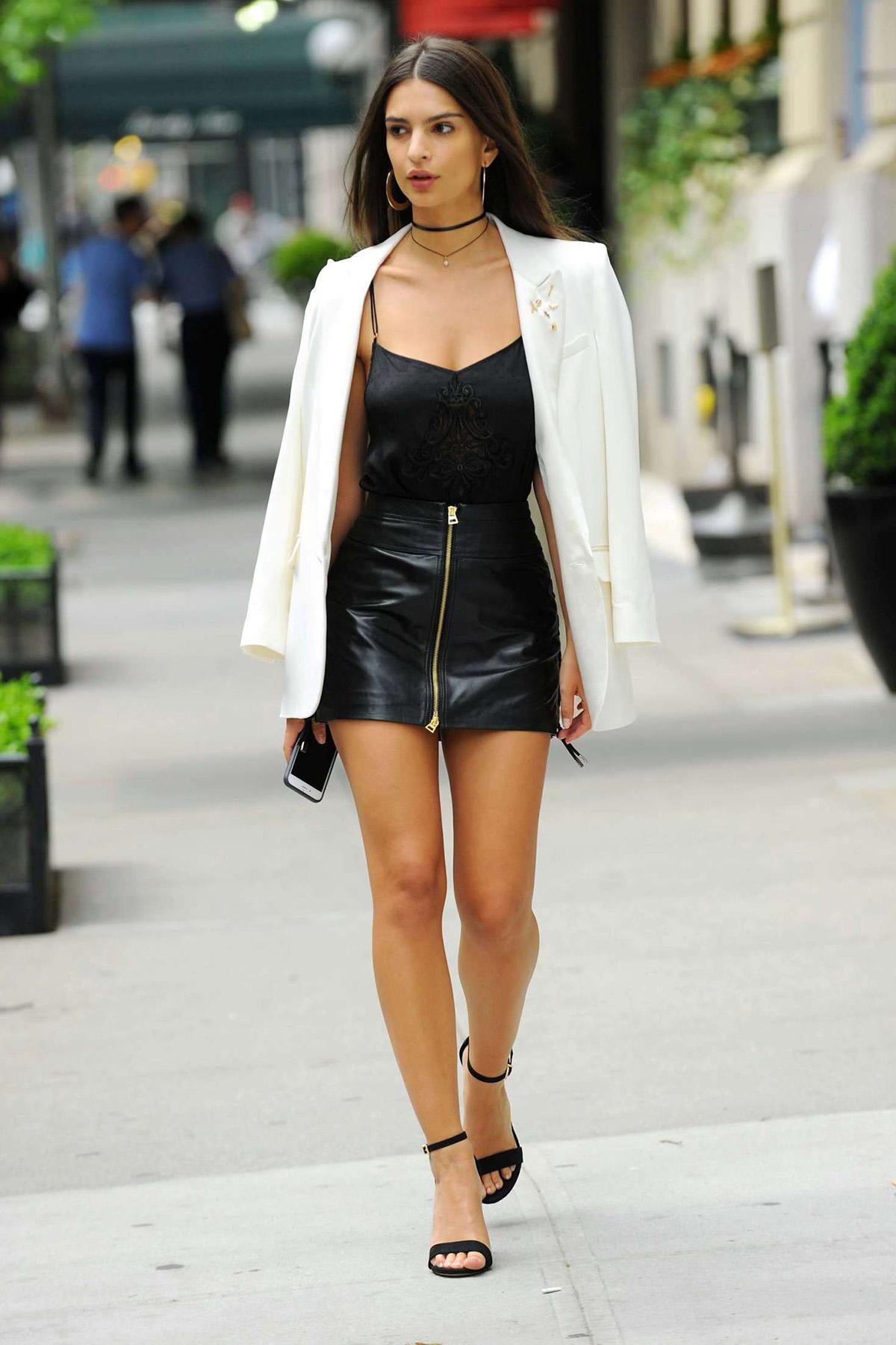 excepcional gama de colores invicto x código promocional 85 Fotos de Faldas de cuero