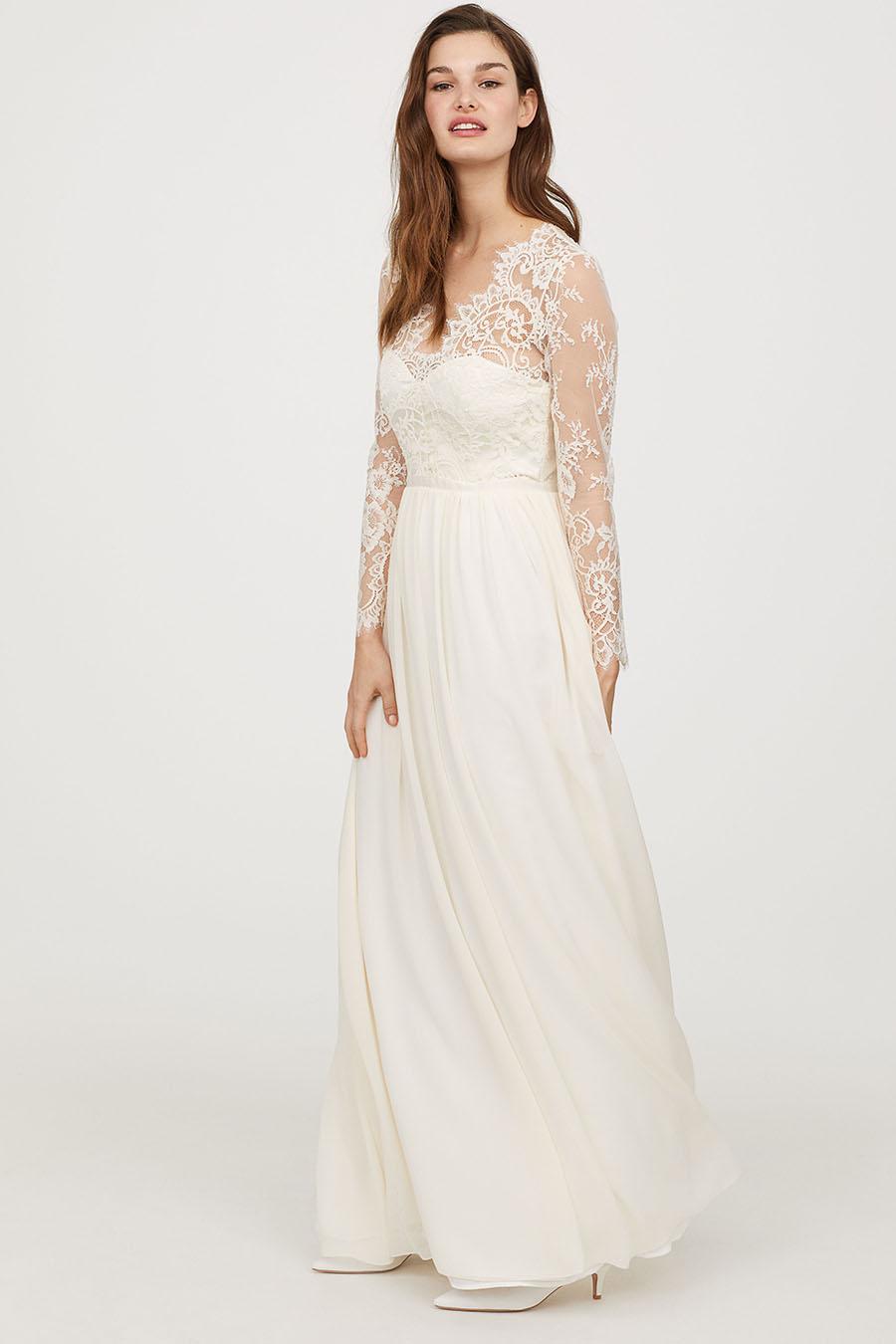 bajo precio fff0d 5ebaf Vestidos de novia baratos: H&M, tu mejor opción - InStyle
