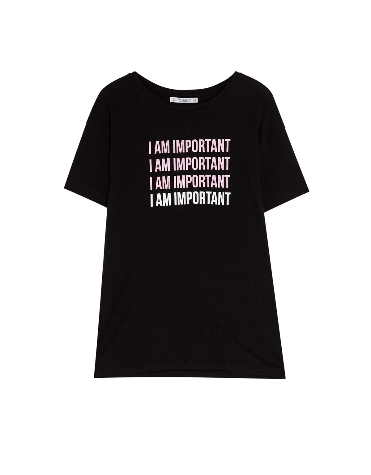 pull-and-bear-i-am-important. Soy importante