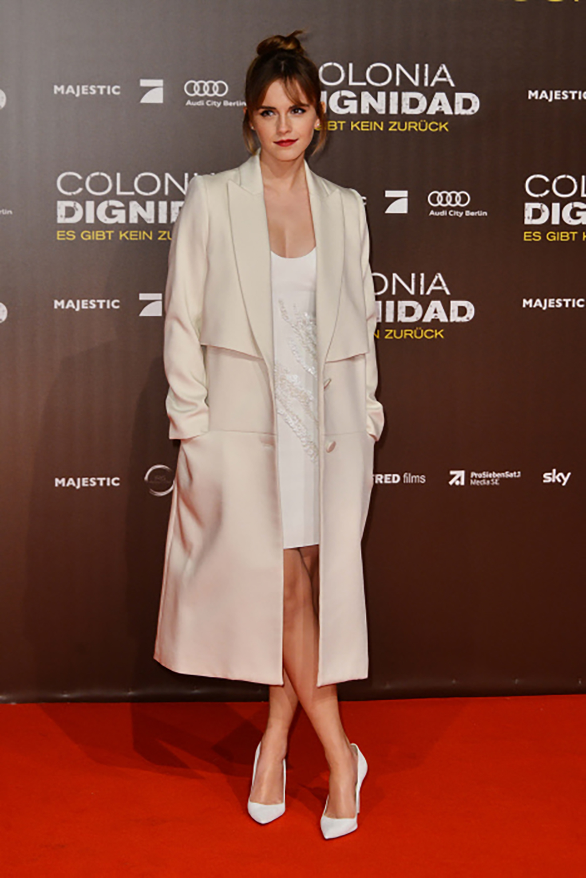 12. Actress Emma Watson during premier  Colonia Dignidad en berlin. Sencilla y perfecta