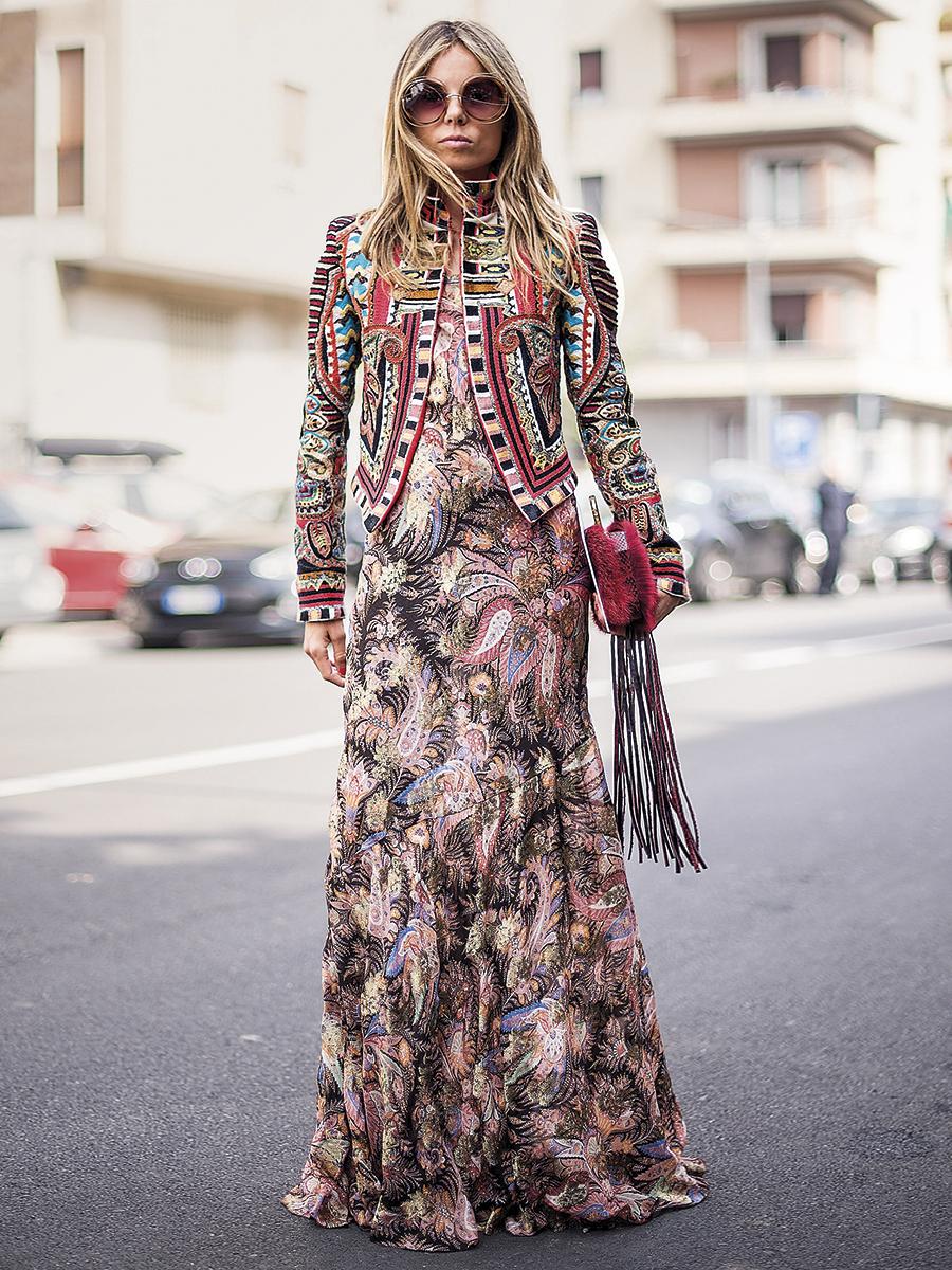 mas bajo precio varios tipos de profesional de venta caliente Boho chic: el estilo de moda esta primavera-verano 2018 ...
