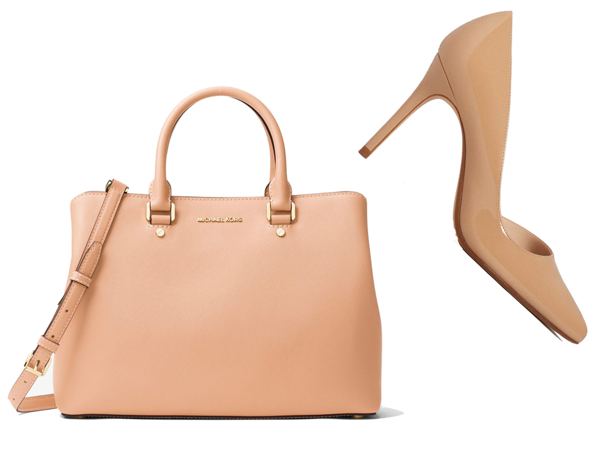 bbb136bfd36 Zapatos beis + bolso beis