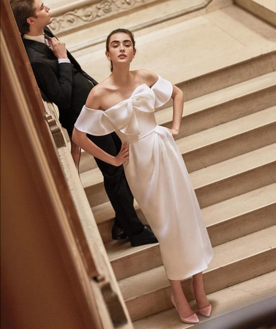 b776748ee8 Los diseños más especiales de la New York Bridal Week primavera 2019 ...