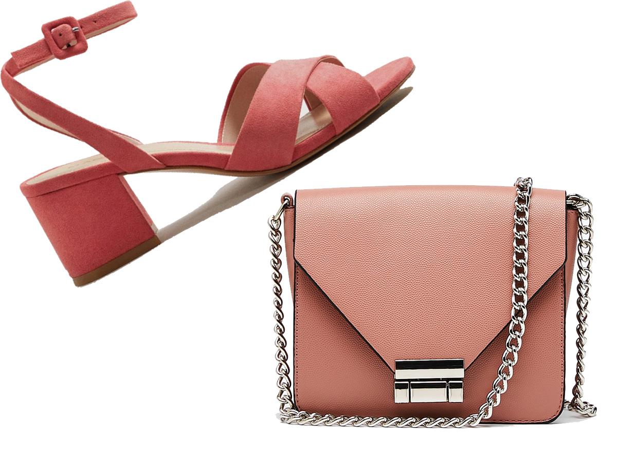 rosa. Zapatos en color rosa + bolso rosa 042b0a868d7