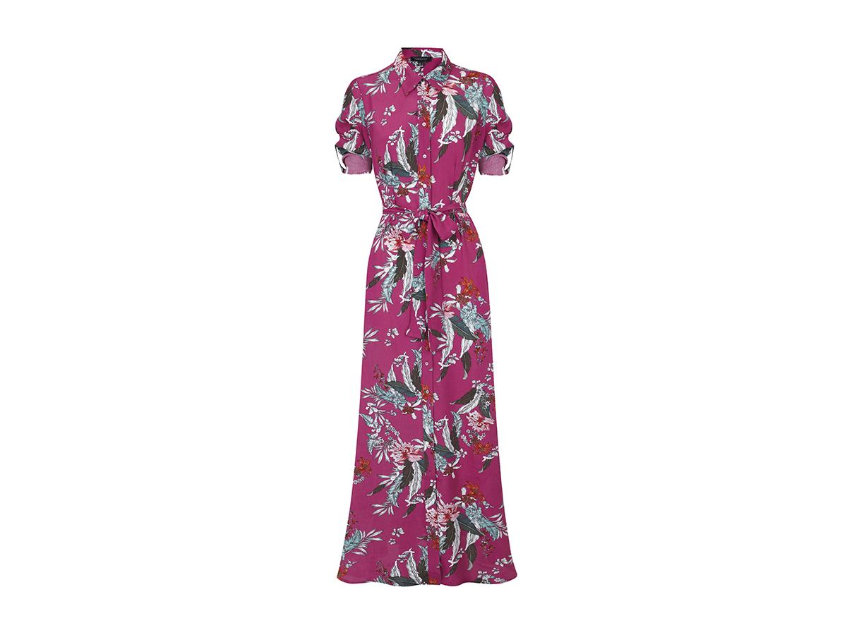 Vestidos largos con estampado floral