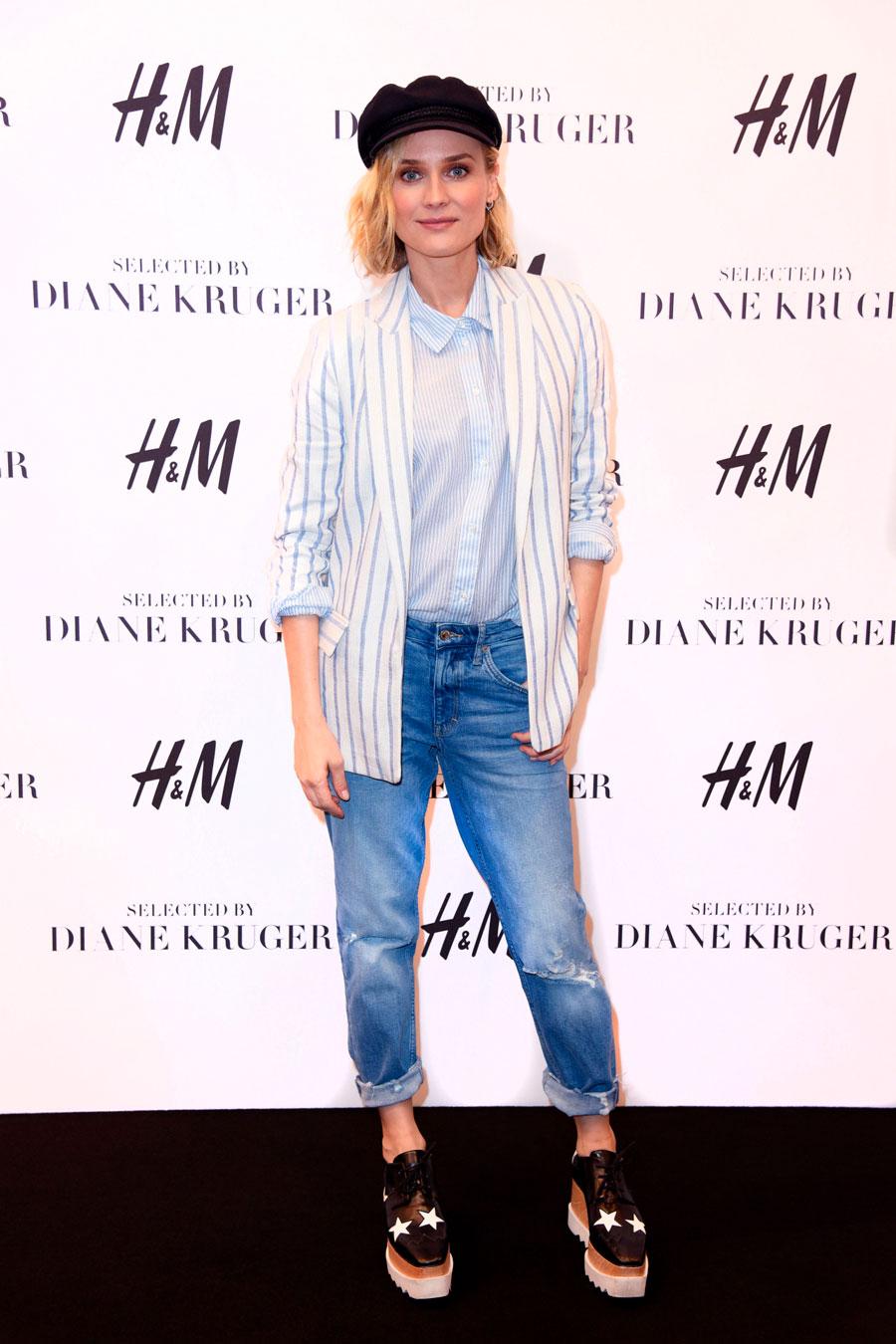 mejor selección de 2019 diseñador nuevo y usado comprar más nuevo Diane Kruger y H&M: cómo combinar los vaqueros 'mom' para ...