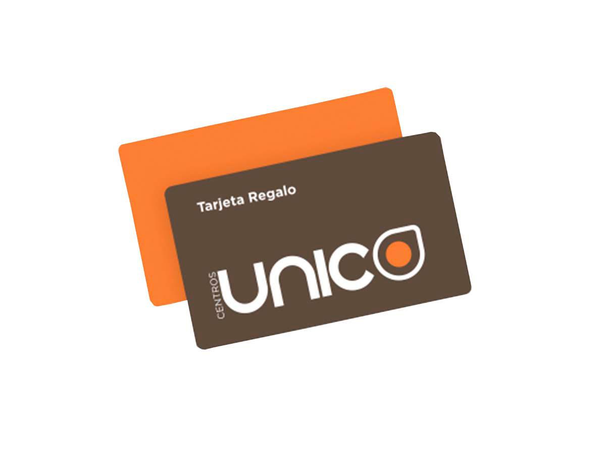centros unico tarjeta regalo