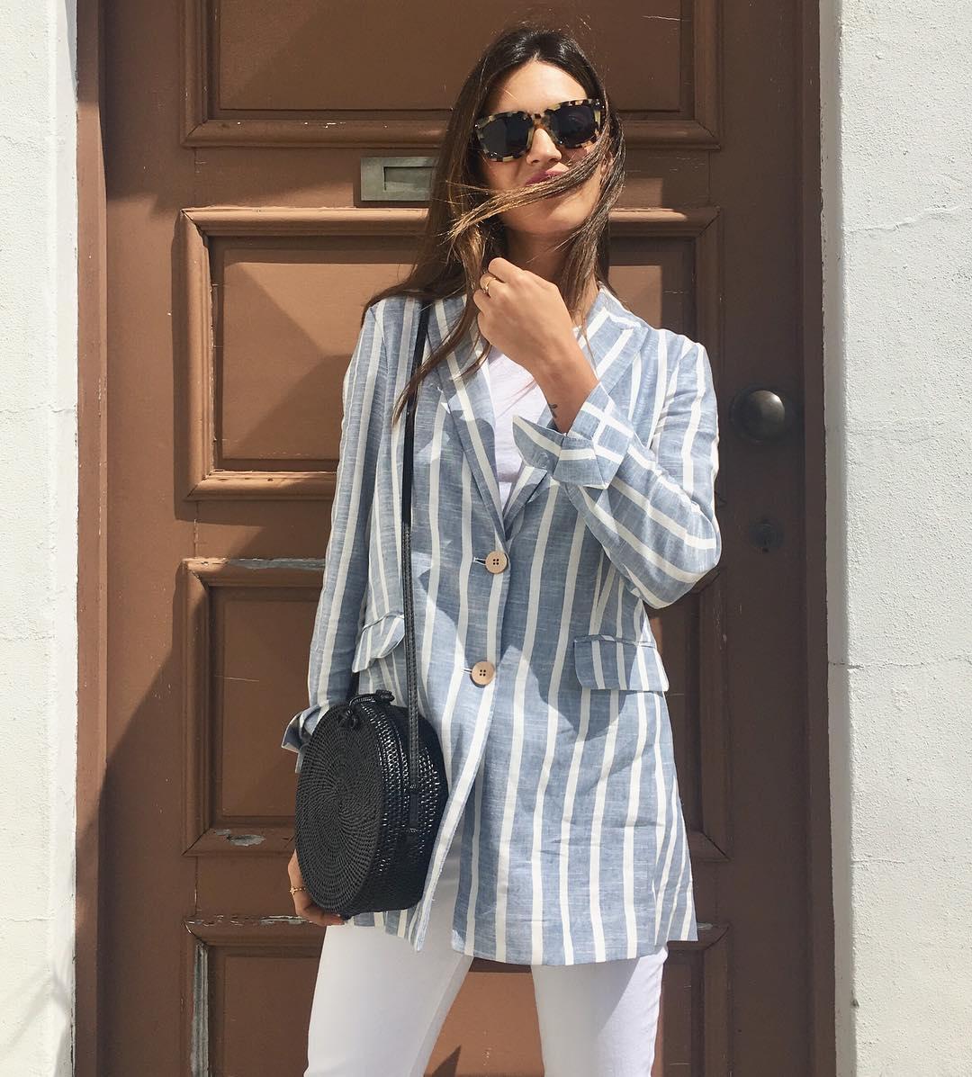 mirada detallada última moda diversificado en envases Blazer de mujer: este verano 2018 ¡llévalas a rayas! - InStyle