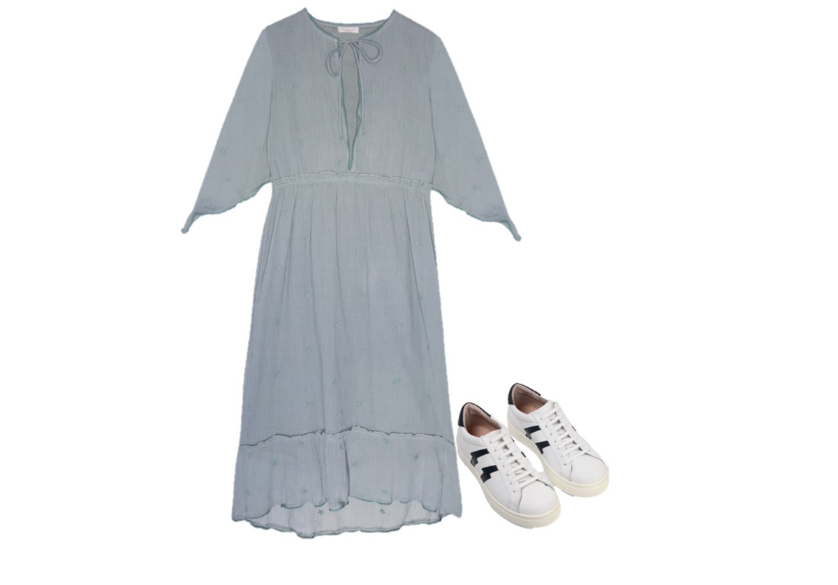 6-intropia-zapas-brownie. Vestido formal + zapatillas
