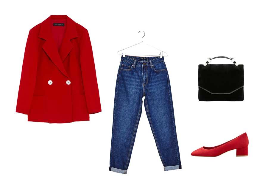 Look en rojo para una cita. El toque rojo perfecto para tu look de primera 8cde2ab8217